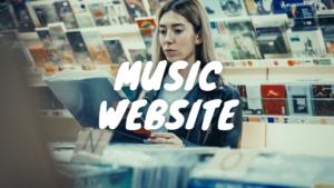 DJ音源サイト トップ画像