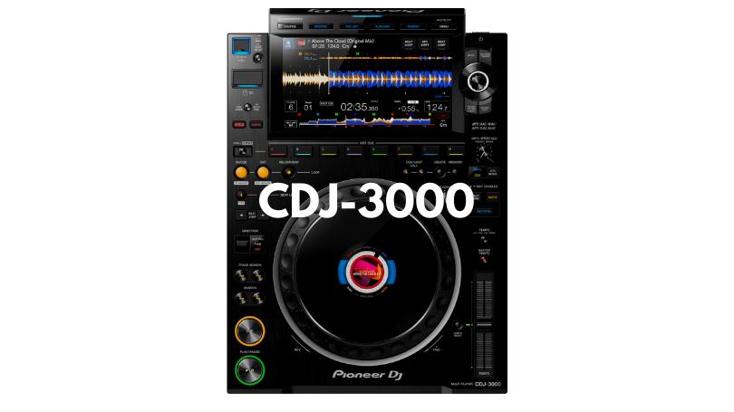 CDJ3000トップ画像
